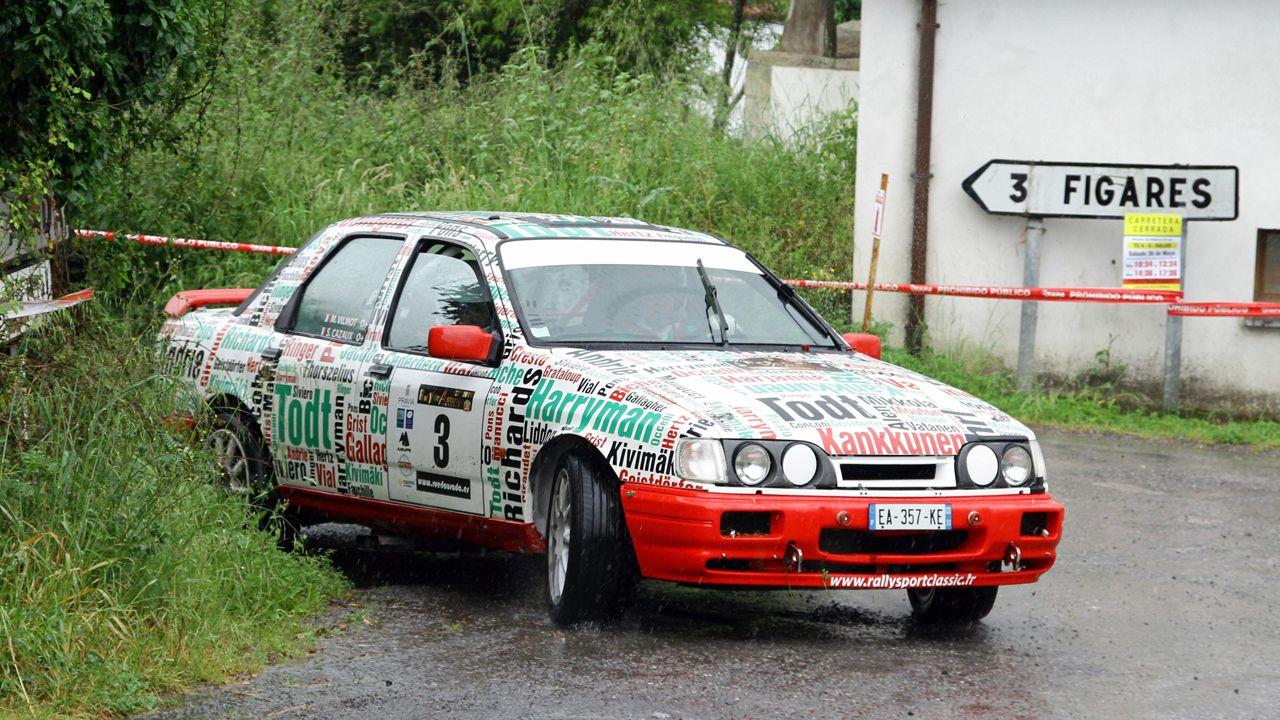 El piloto francés Serge Cazaux, fue el vencedor del Rallye de Avilés el pasado año a bordo de un Ford Sierra Cosworth