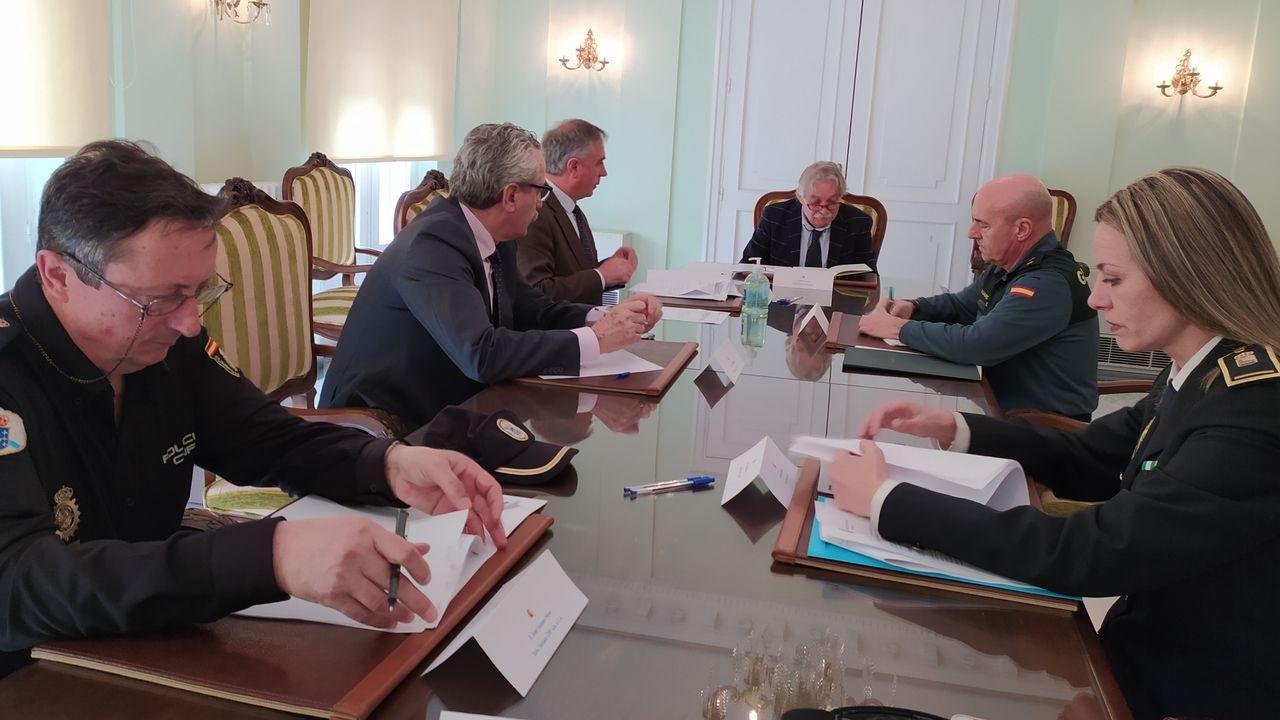 El subdelegado del Gobierno, Emilio González Afonso, presidió la reunión.