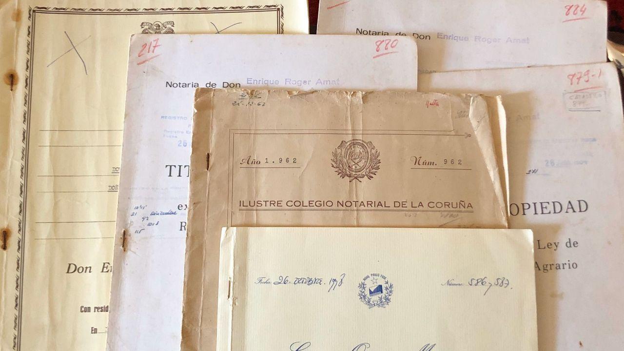 Los trámites con las herencias mueven una gran cantidad de documentos