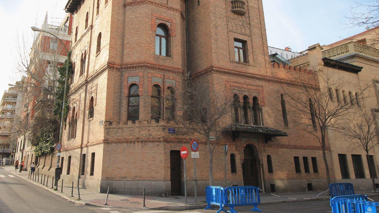 Sede del Instituto Valencia de Don Juan, en Madrid, al que fue a parar parte del hallazgo