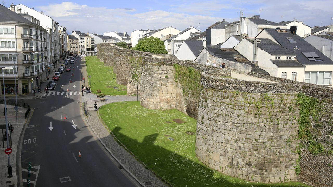 Muralla de Lugo, entre los monumentos elegidos por la Unesco para visitar