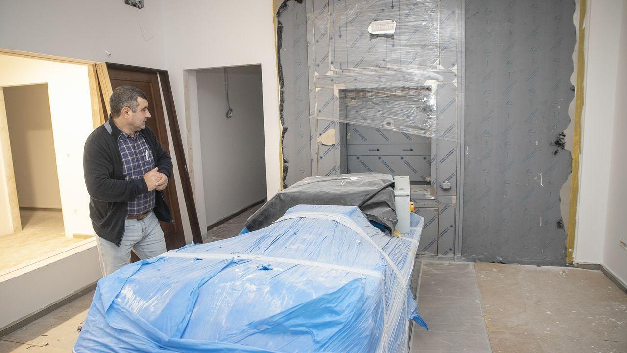 Visitamos las entrañas del futuro crematorio de Rianxo, ¡mira aquí las fotos!