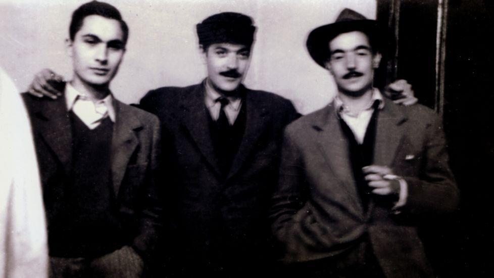 Las imágenes de la Feira do Viño de Vilachá.O escritor Gonzalo Hermo (Taragoña, Rianxo, 1987)