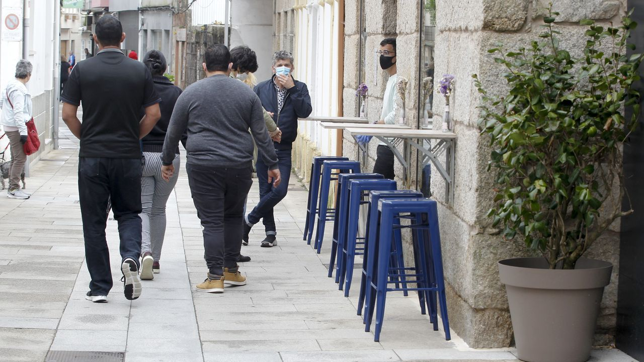 Así viven los gallegos el primer fin de semana en la fase 1.O Mulo, durante un juicio en la Audiencia de Pontevedra