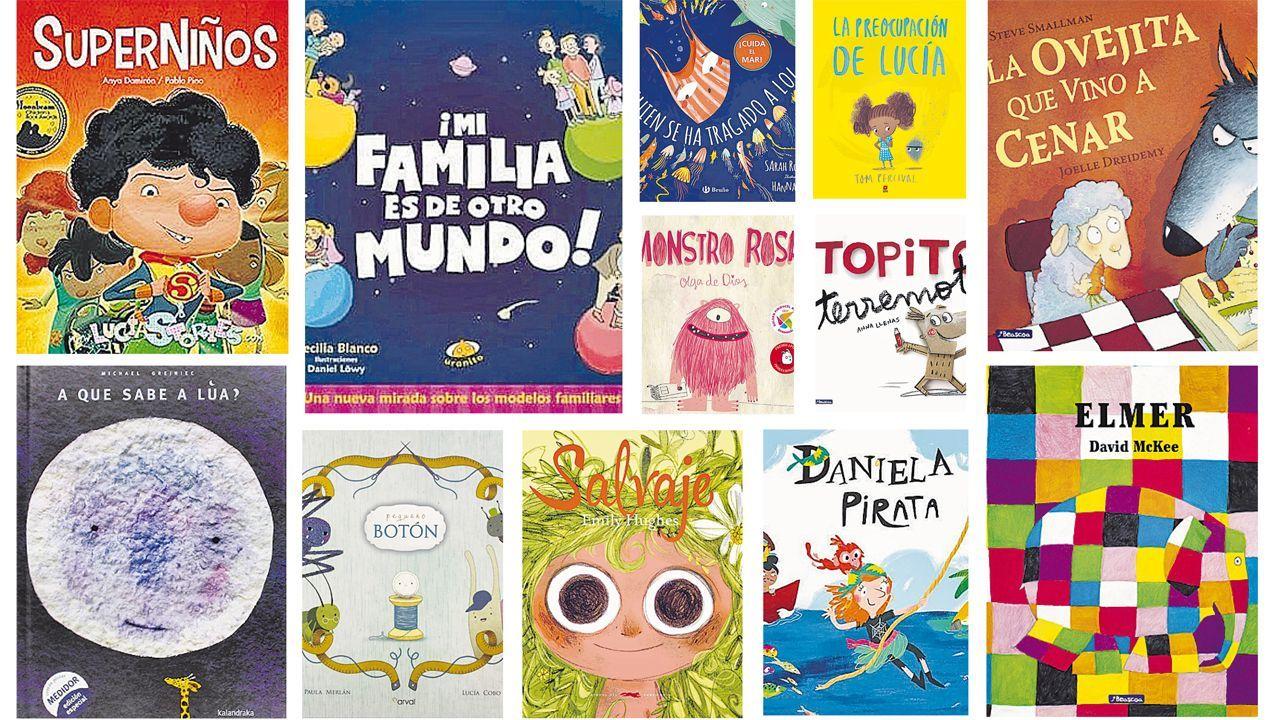 Una pequeña selección de libros que ayudan a crecer en valores