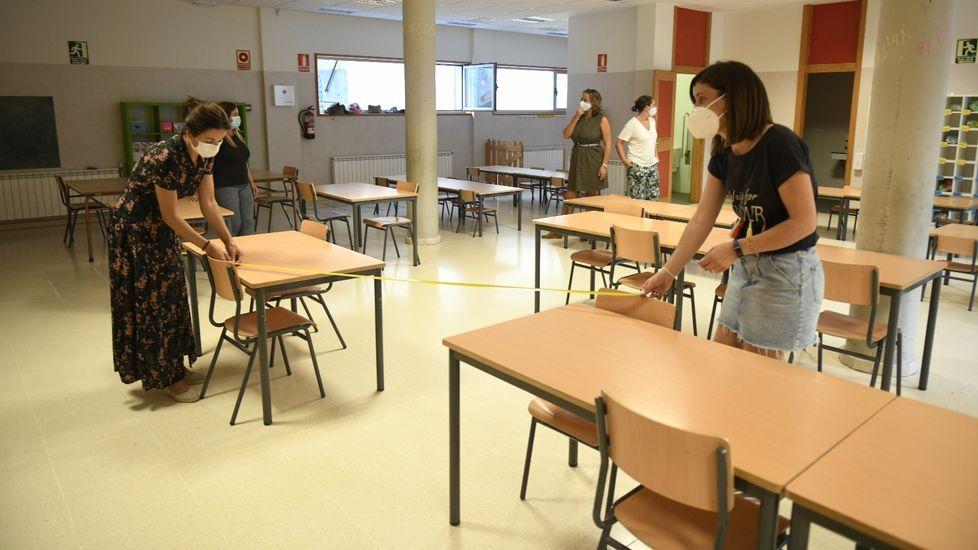 Puertas cerradas en el colegio Calasancio de Pontevedra