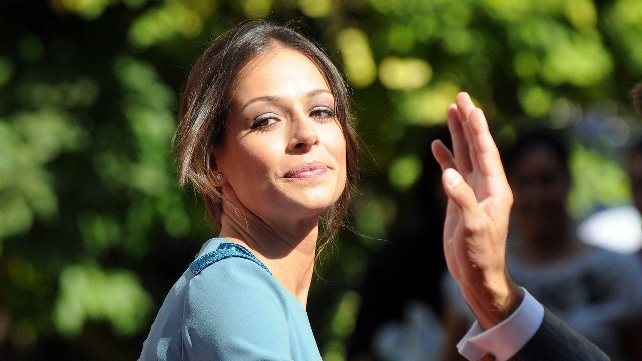 Paula Echevarría en el programa «Mi casa es la tuya» de Bertín Osborne