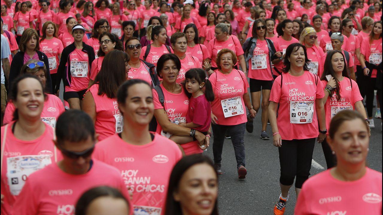 Marta Ortega, heredera de Inditex, también ha querido sumarse a la Carrera de la Mujer