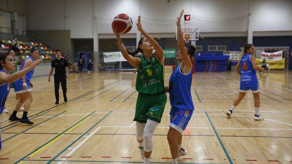 Las imágenes del baloncesto Arxil - Cortegada