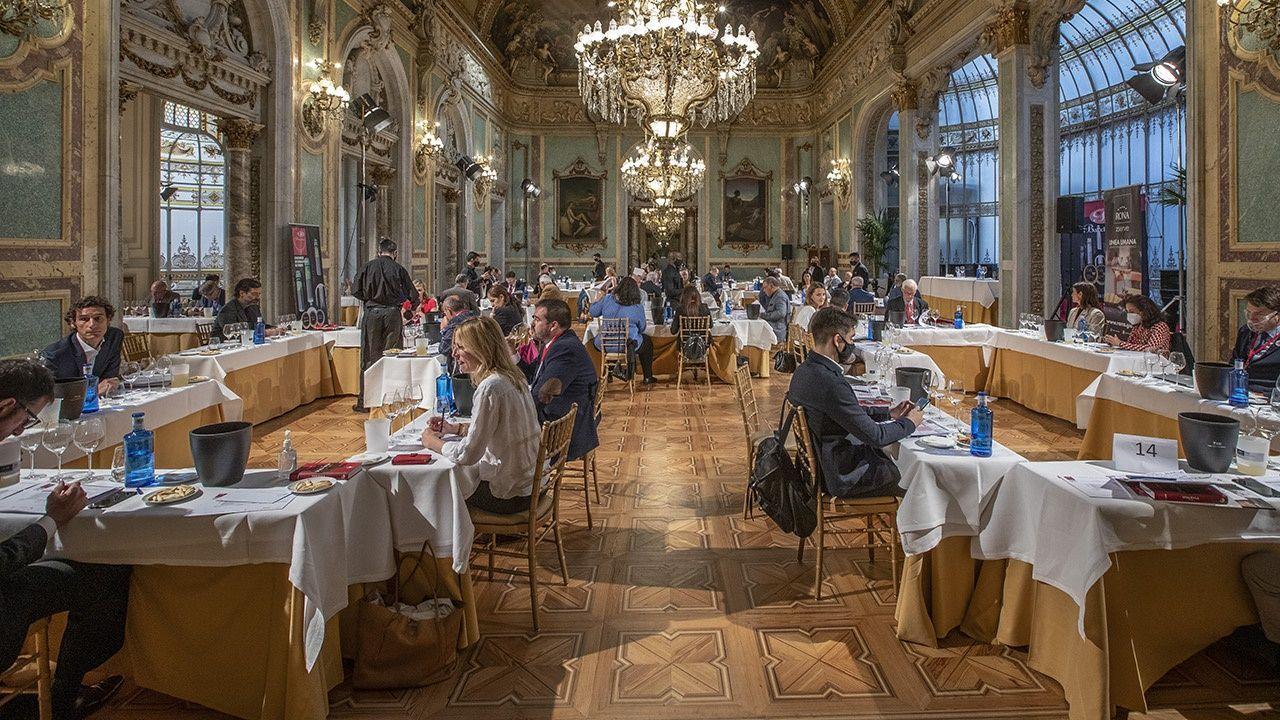 Entrega de los premios de los vinos de Galicia