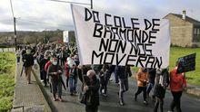 El anuncio del cierre del colegio de Baamonde ha generado varias protestas vecinales
