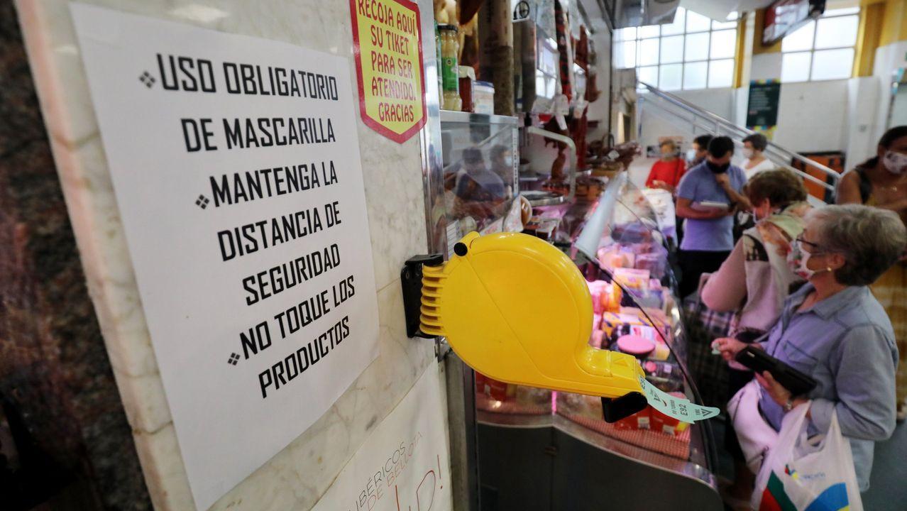 En mercados y centros comerciales apenas se han detectado riesgos