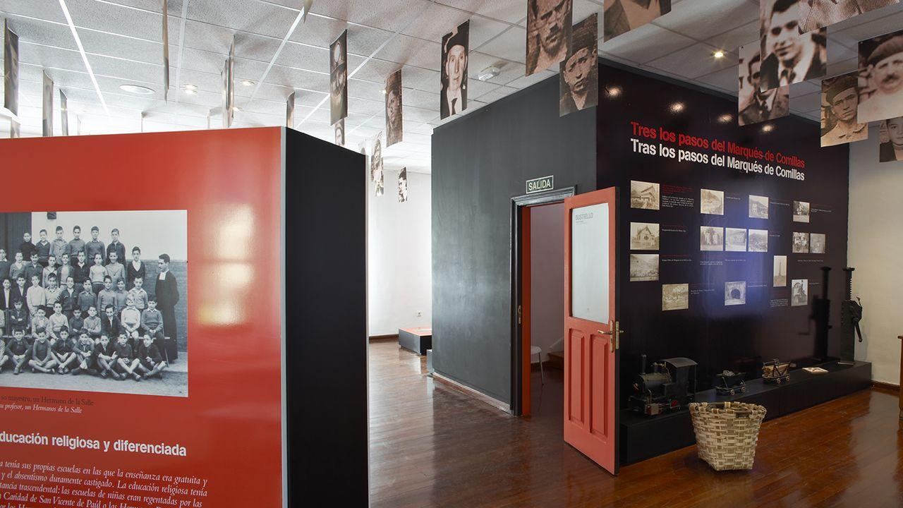 Interior del centro de interpretación