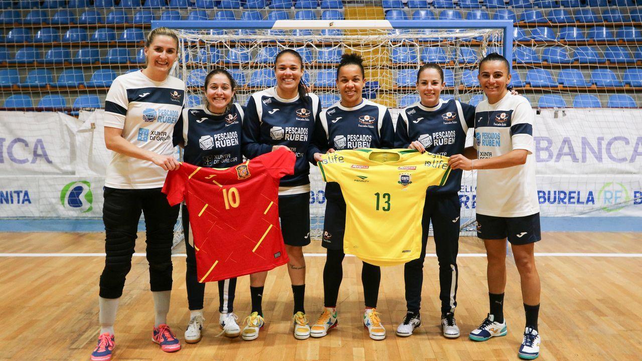 El España-Brasil que iba a enfrentar a seis jugadoras del Burela fue suspendido finalmente