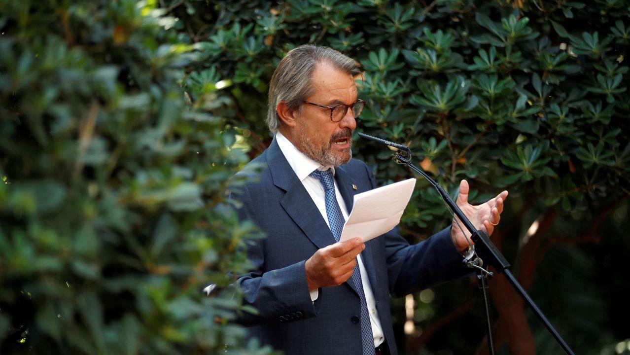 En directo |El Tribunal Supremo revisa la inhabilitación de Quim Torra.Artur Mas, expresidente de la Generalitat