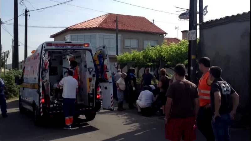 Herido grave con un motocultor en San Miguel de Deiro