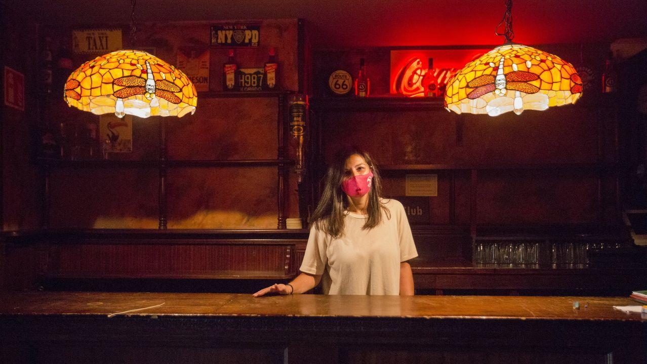 Conducción temeraria en Vimianzo: «Quentámonos».Irene Casás se despide de la discoteca Al Lío, pero continúa al frente de dos pubs de Carballo