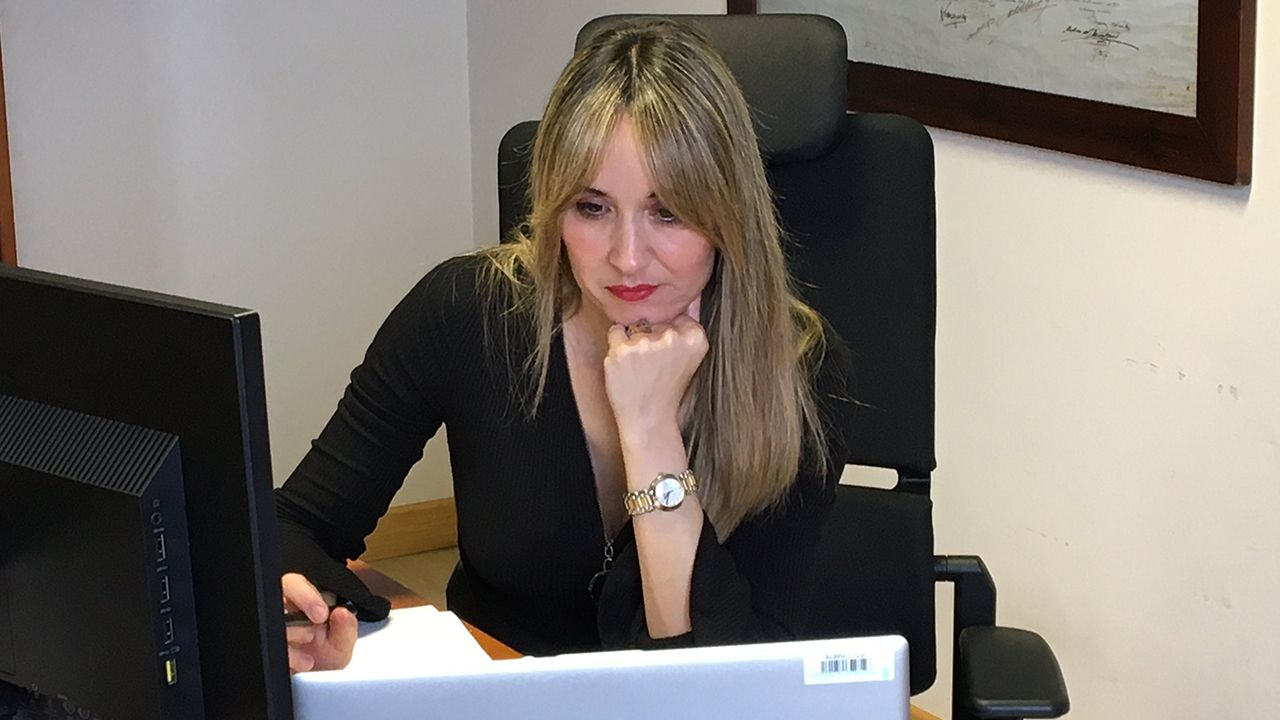 La directora general de Industria, Rosana Prada