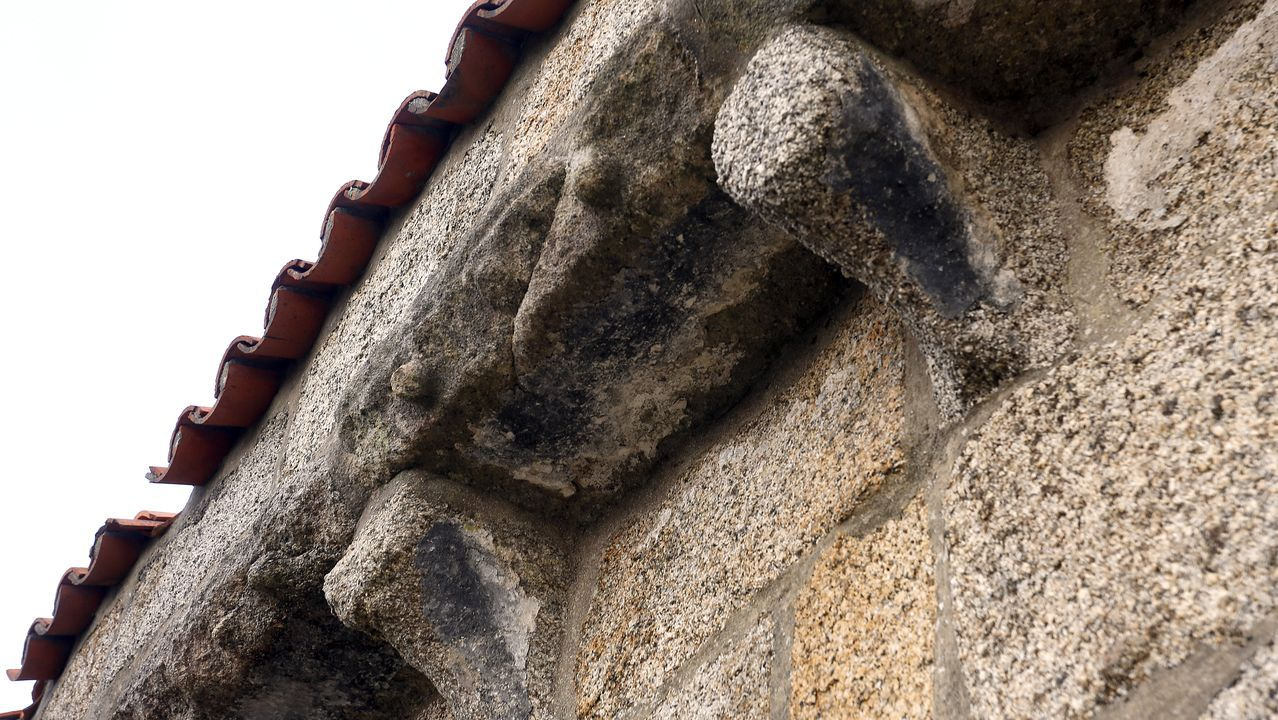 Chequeo a la capilla y al monte de Santo Alberte de Ribeira.Policía local de Gijón