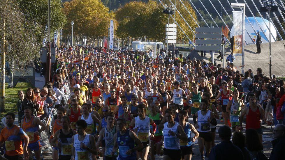 Búscate en la Medio Maratón de Pontevedra