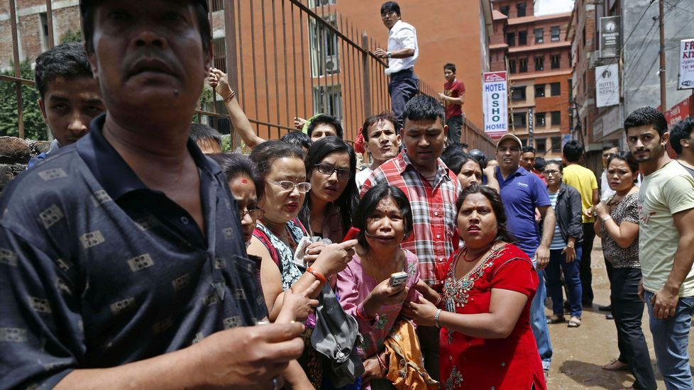 El terreomoto se ha sentido también en la India