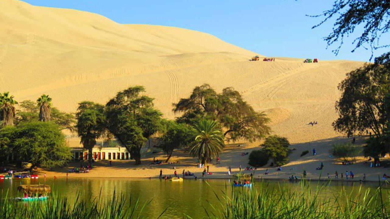 El oasis de Huacachina