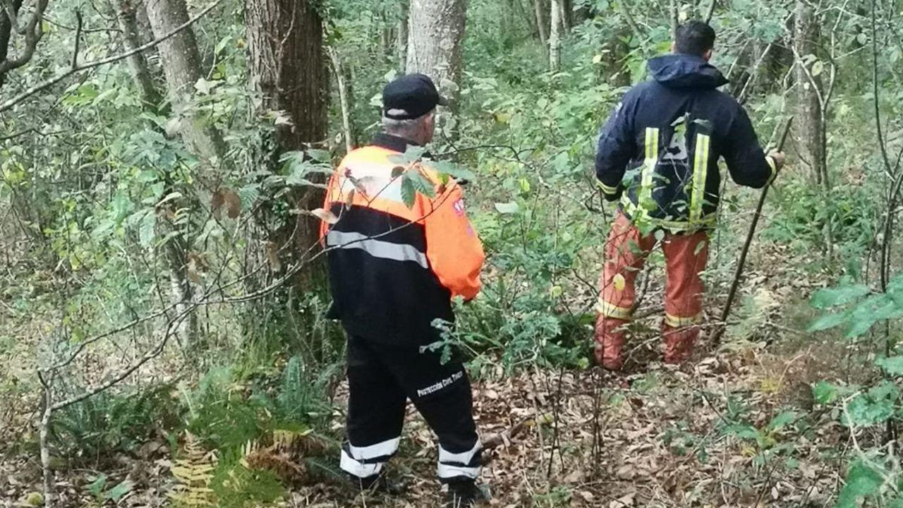 Dispositivo de búsqueda del desaparecido en Tineo