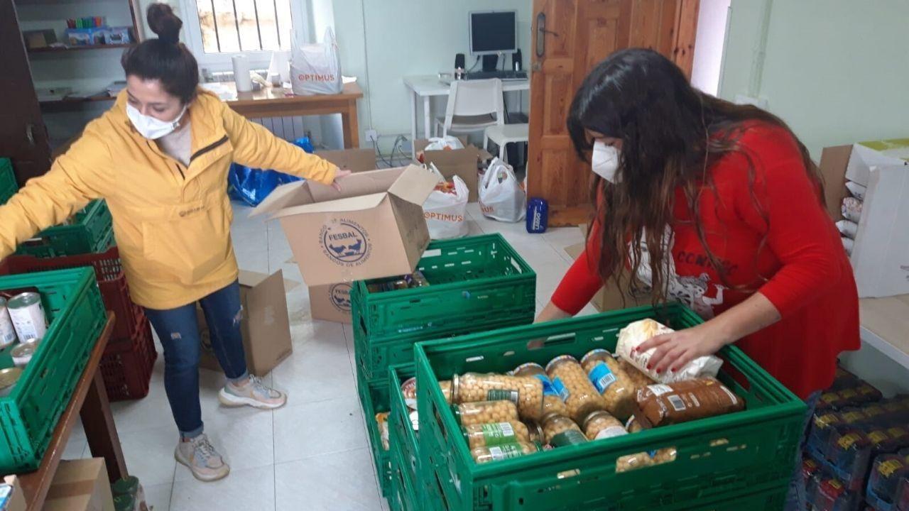 Distribución de productos en las instalaciones de El Patiu