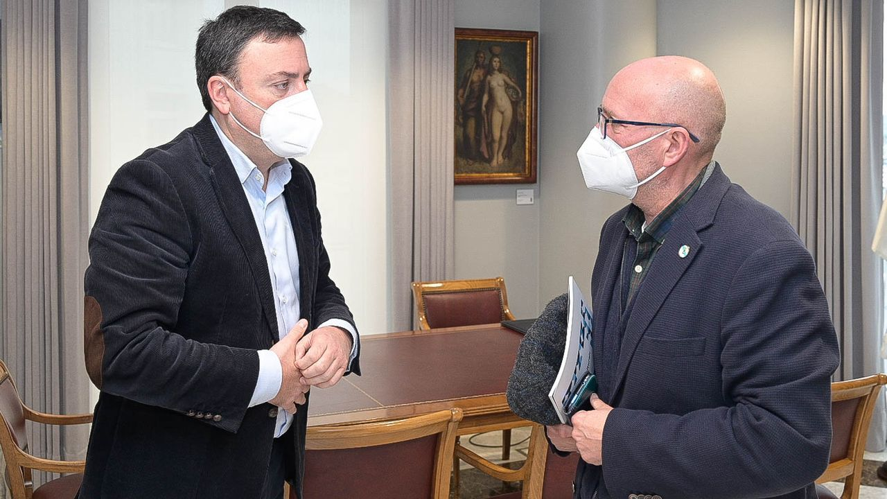 El alcalde, José Ramón Romero, fue uno de los afectados por el brote de covid en el Concello de Boiro