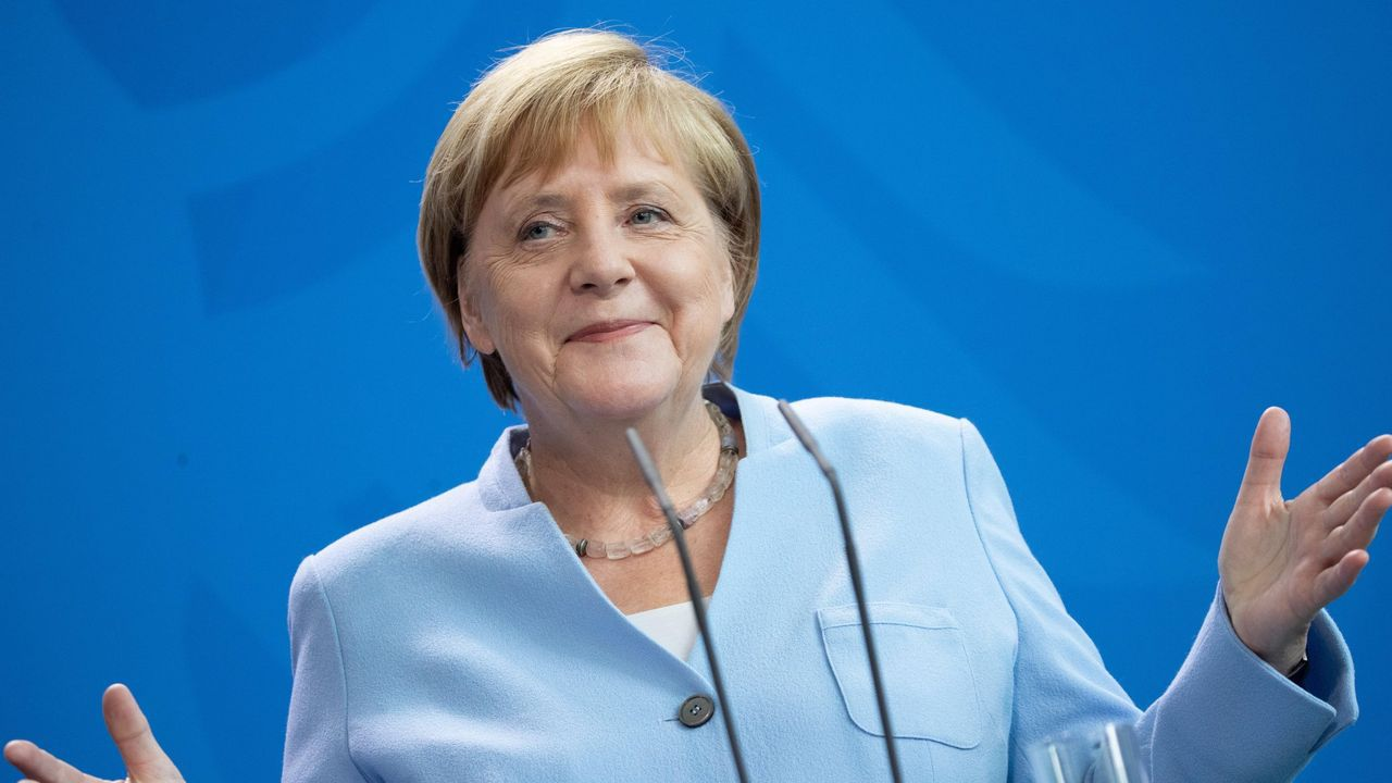 La pandemia en el mundo.La canciller alemana Angela Merkel, en una imagen de archivo