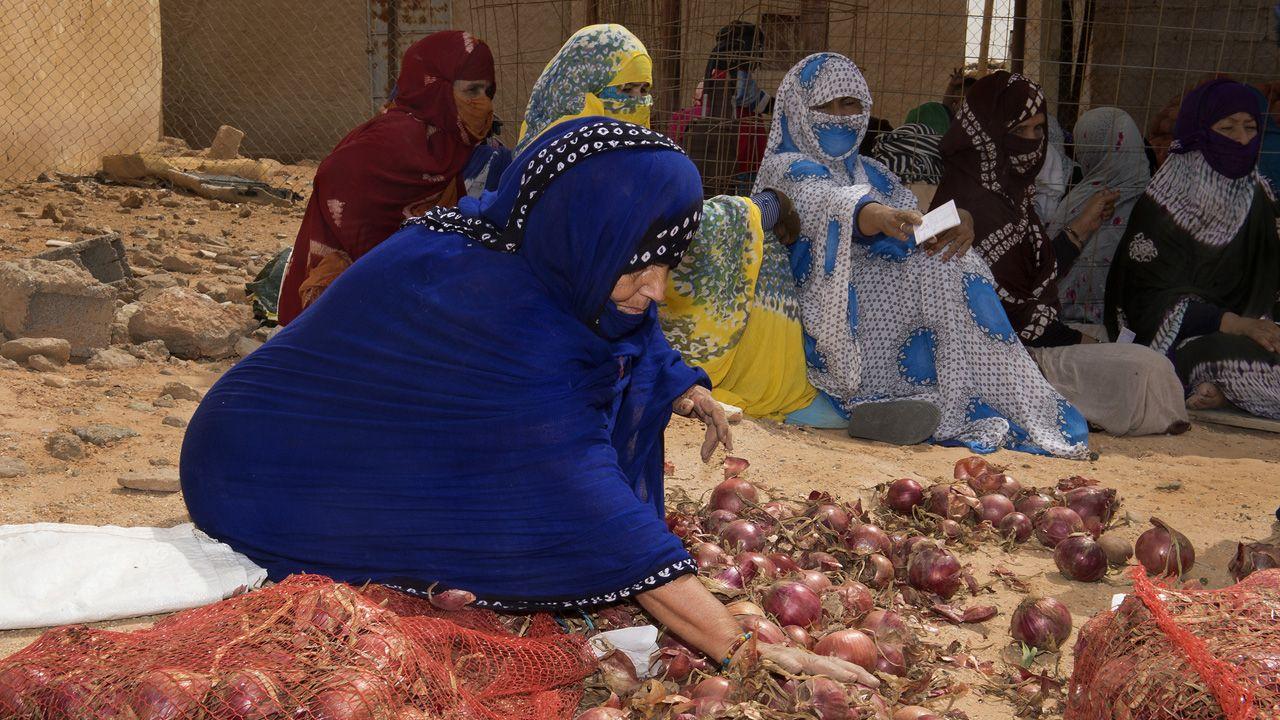 Campamentos de refugiados saharuis en Tinduf