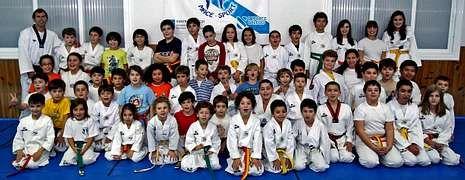 La cantera de taekuondistas del Mace Sport lleva años dando sus frutos a nivel autonómico, nacional e internacional.