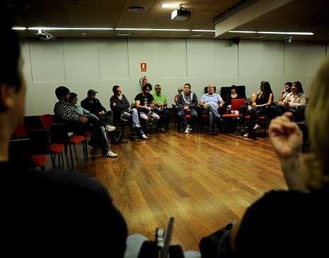 La reunión de Anova tuvo lugar en el campus.