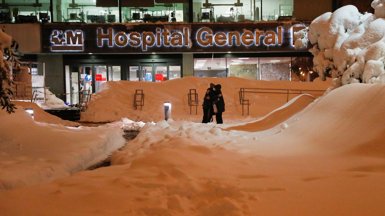 Entrada del Hospital La Paz