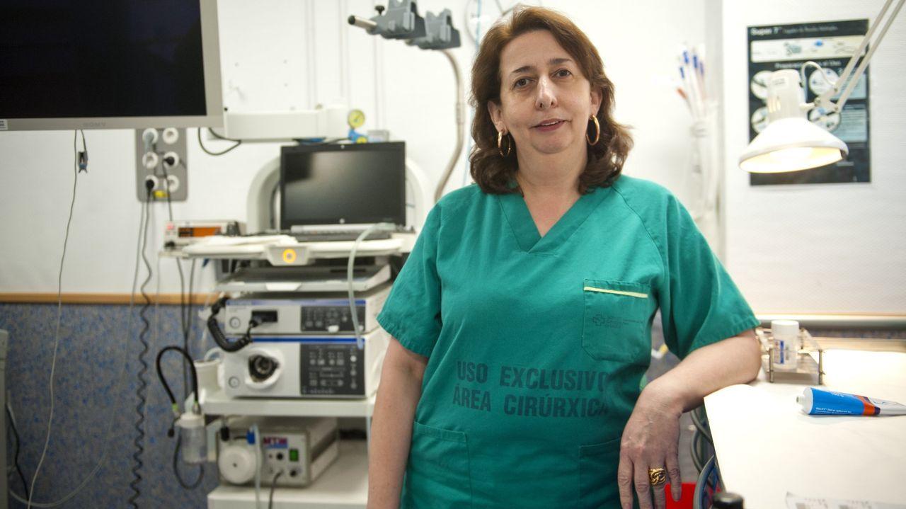 Ana Echarri Piúdo, especialista del servicio Digestivo del CHUF