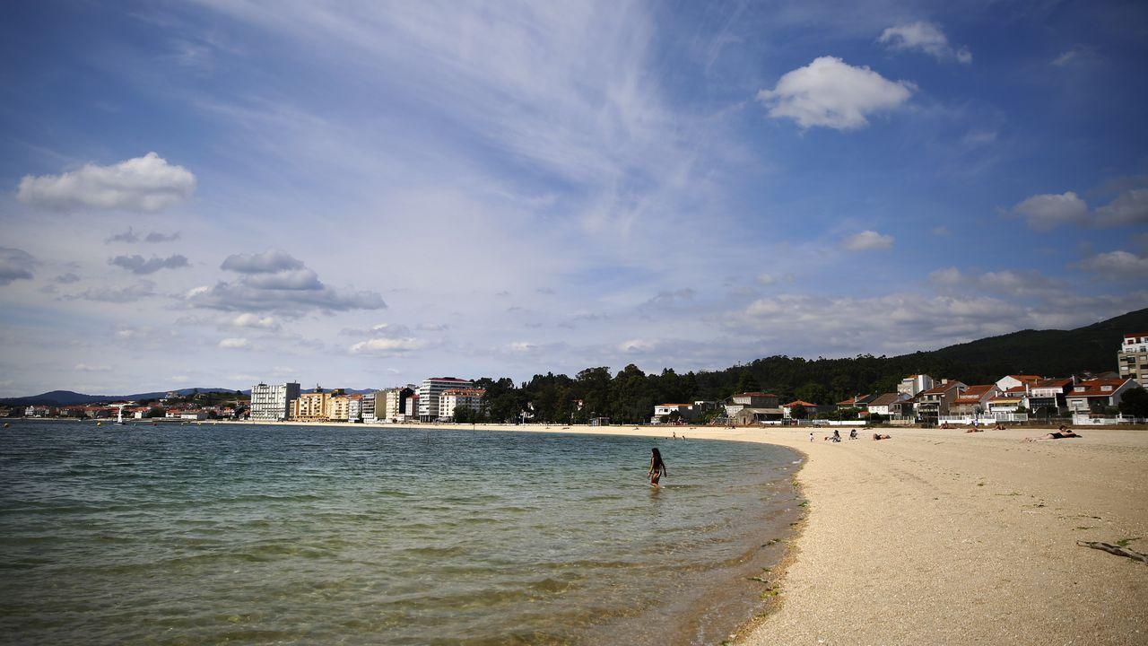 Estas son las playas que tendrán bandera azul en Arousa