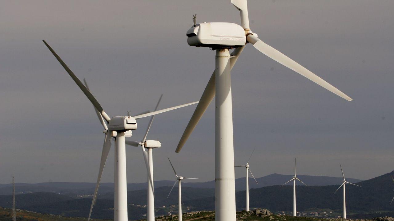 La comarca resulta atractiva para la instalación de parques eólicos