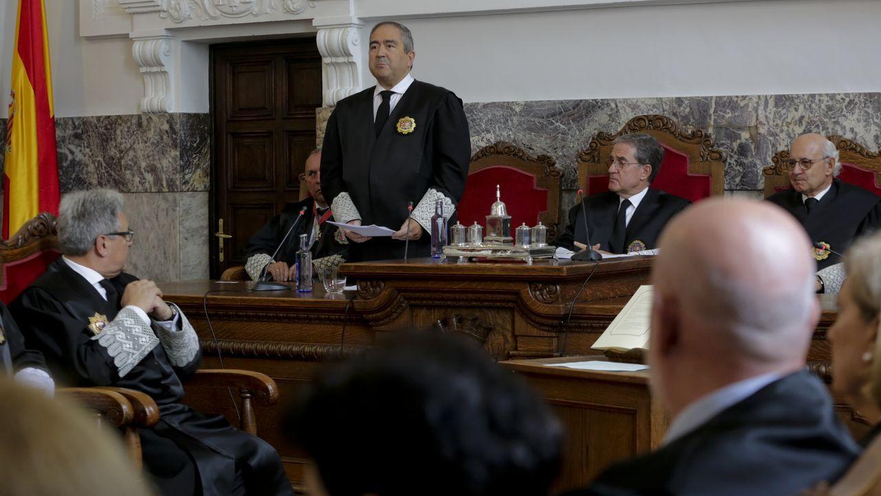 Ignacio Picatoste toma posesión como presidente de la Audiencia de A Coruña