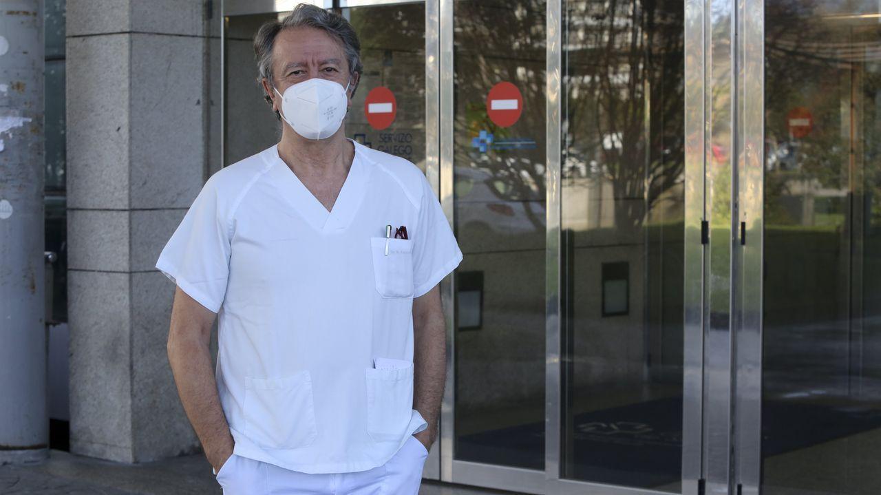 El ucista Javier Rodríguez Fariñas
