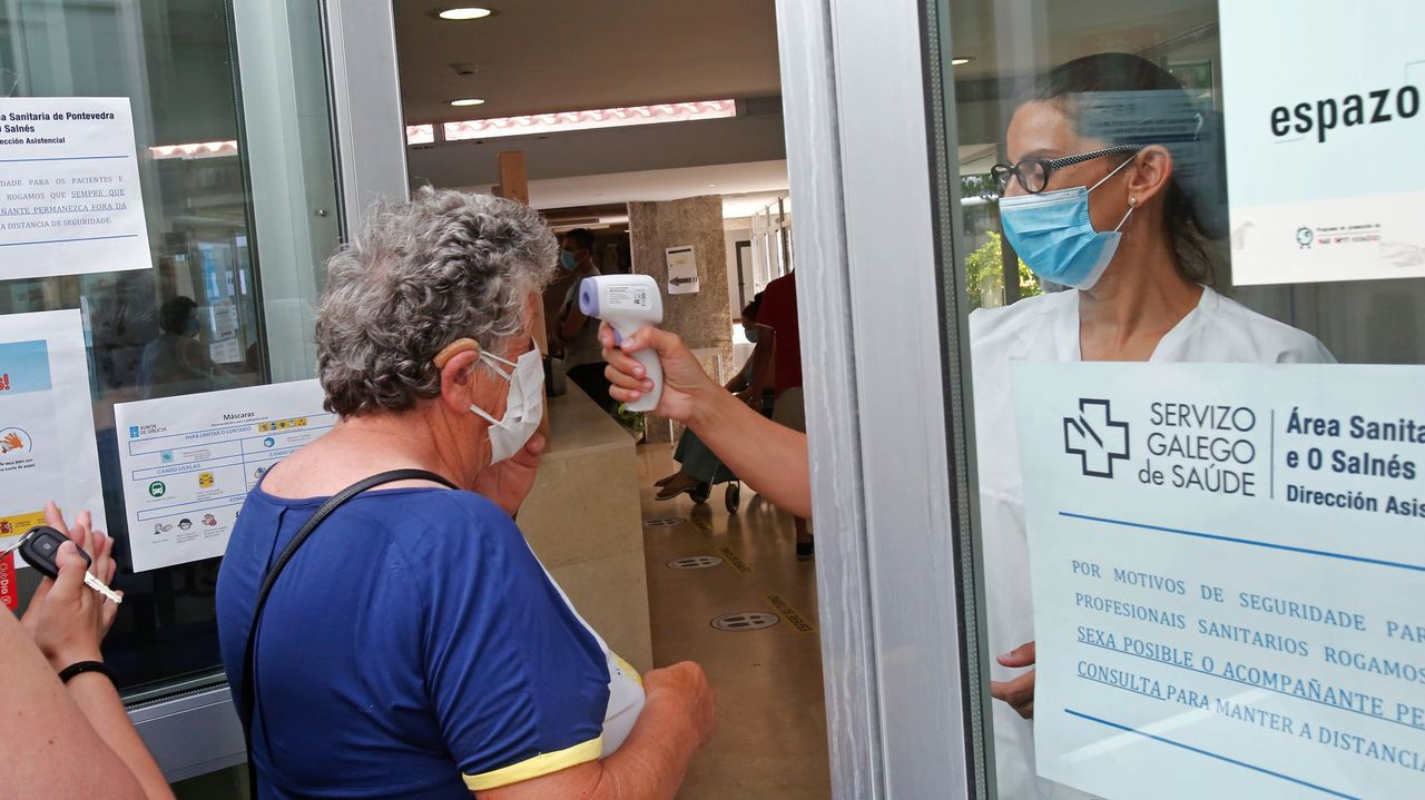 Entrega de banderas azules 2021: Sanxenxo, récord de España.El centro de salud de Baltar, en Sanxenxo, el pasado verano