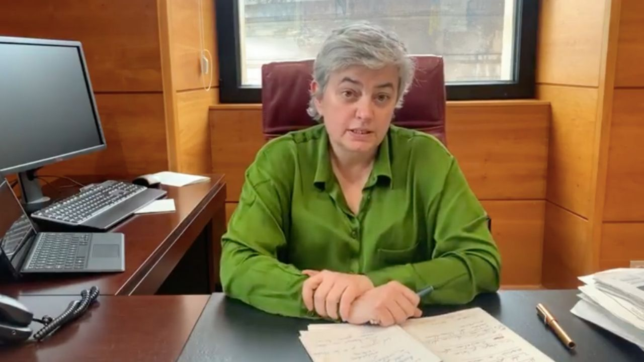 La alcaldesa de Gijón, Ana González Rodríguez