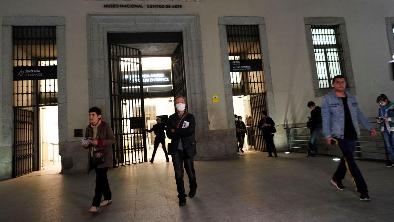El cierre del museo Reina Sofia de Madrid