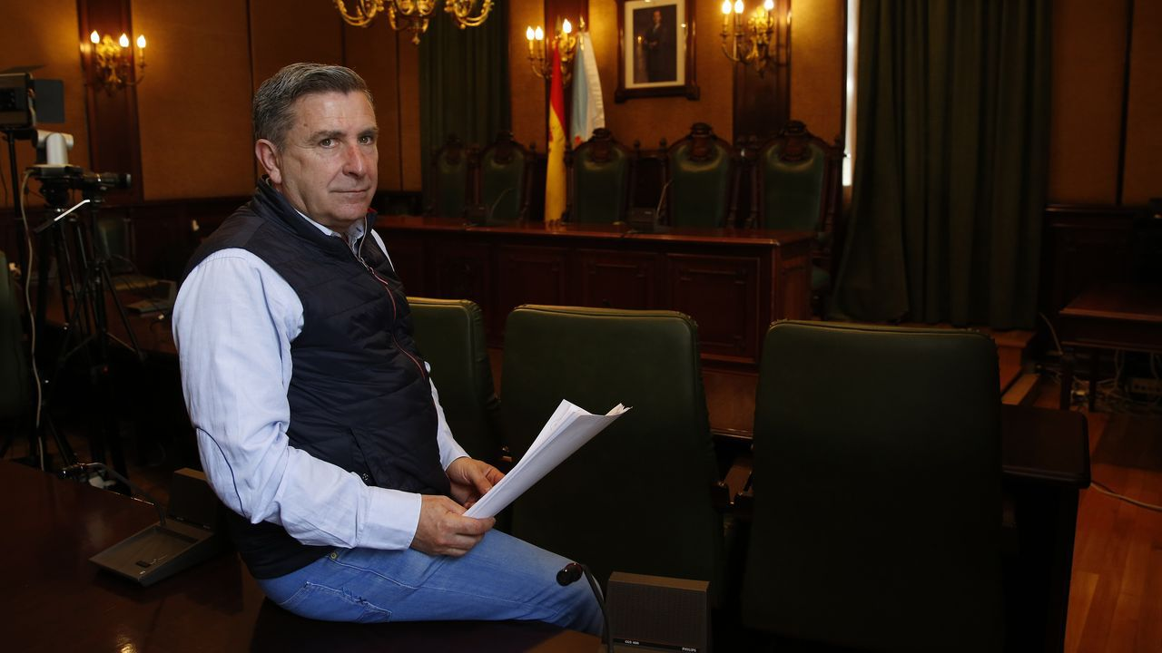 Héctor Colunga,  durante el confinamiento del estado de alarma