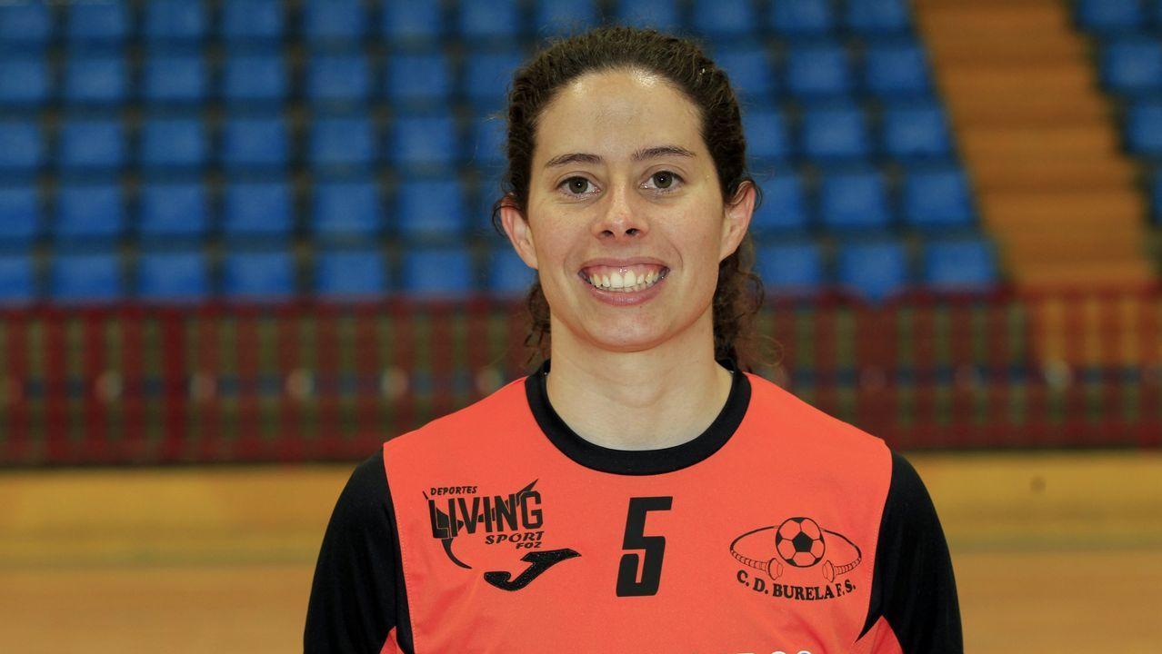 La focense Claudia Rodríguez compaginó su trabajo de profesora con el de jugadora durante años
