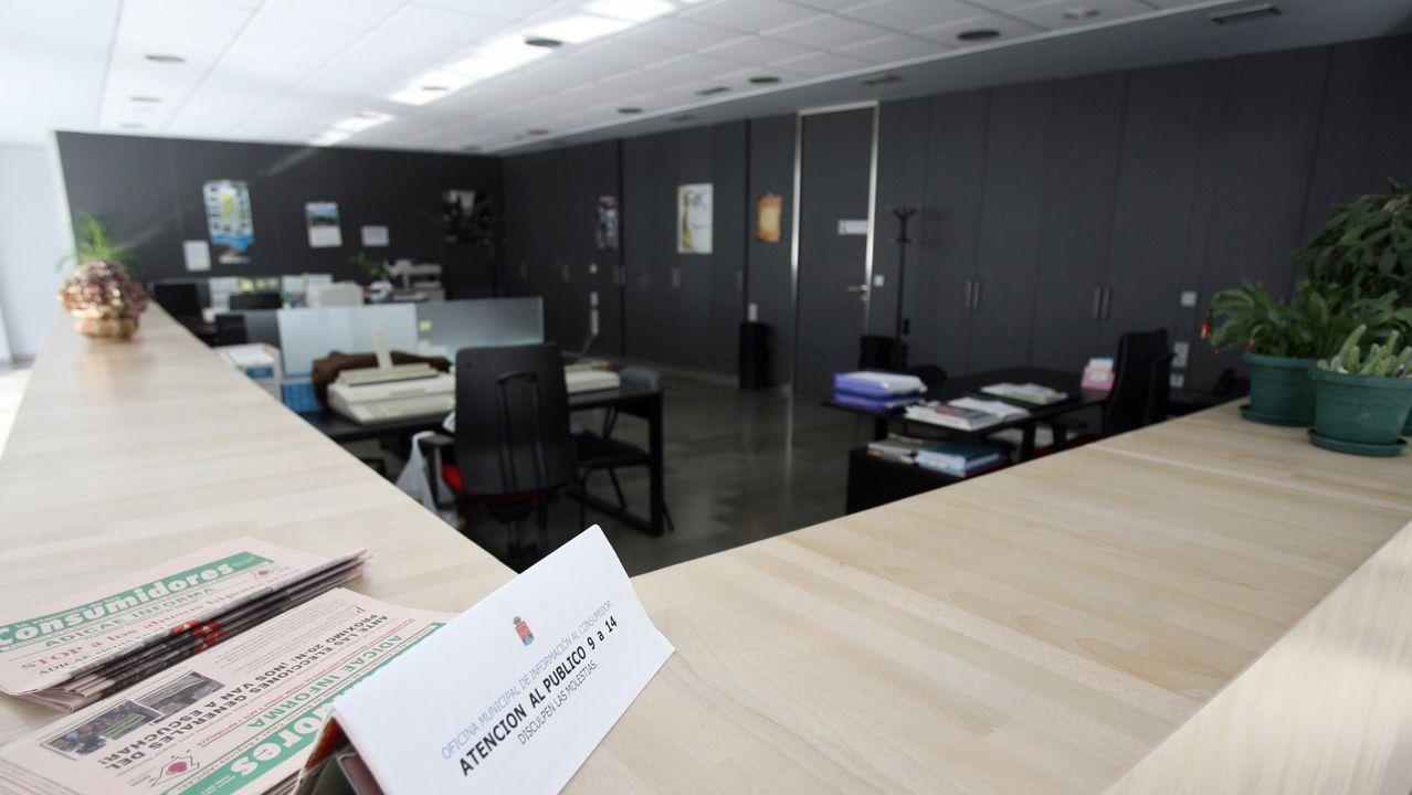 Oficinas municipales del Concello de Viveiro, en una imagen de archivo