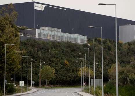 La planta de As Somozas fabrica en estos momentos únicamente palas del modelo G-114.