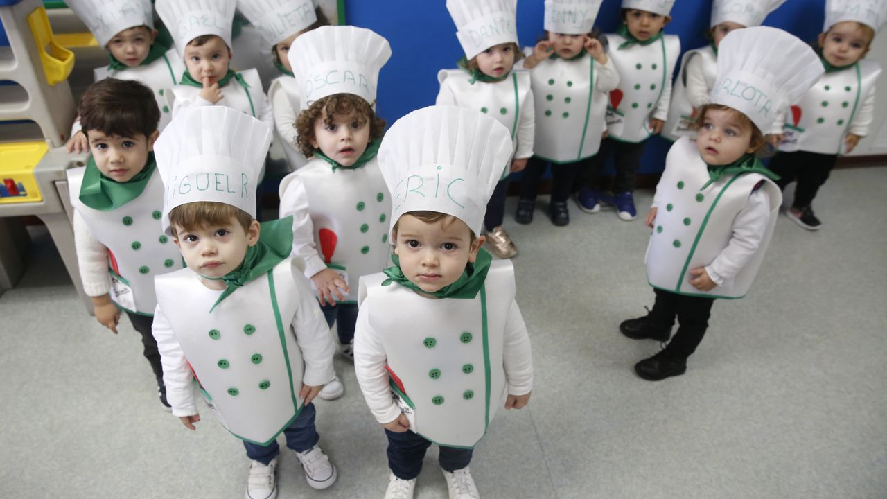 En la escuela infantil Bonecos de Vilagarcía la temática fueron las profesiones
