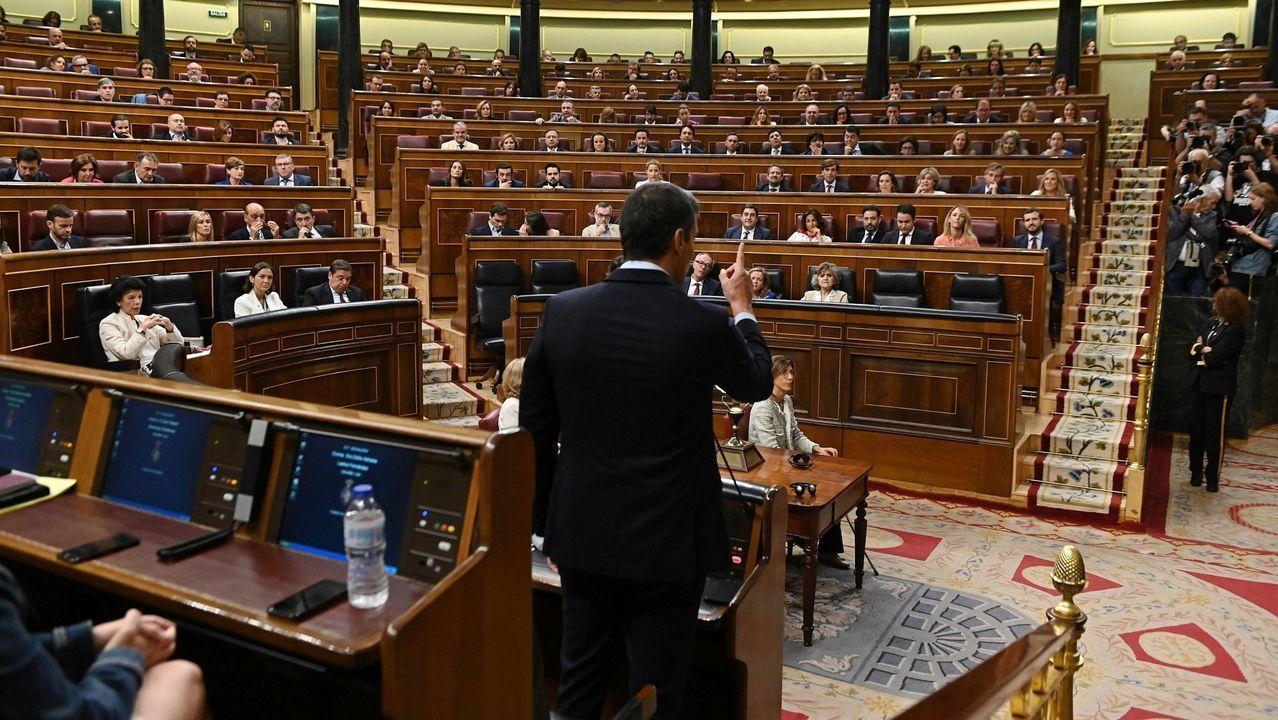 Pedro Sánchez quiere Gobierno en diciembre.Pablo Iglesias, en un acto de precampaña en Madrid