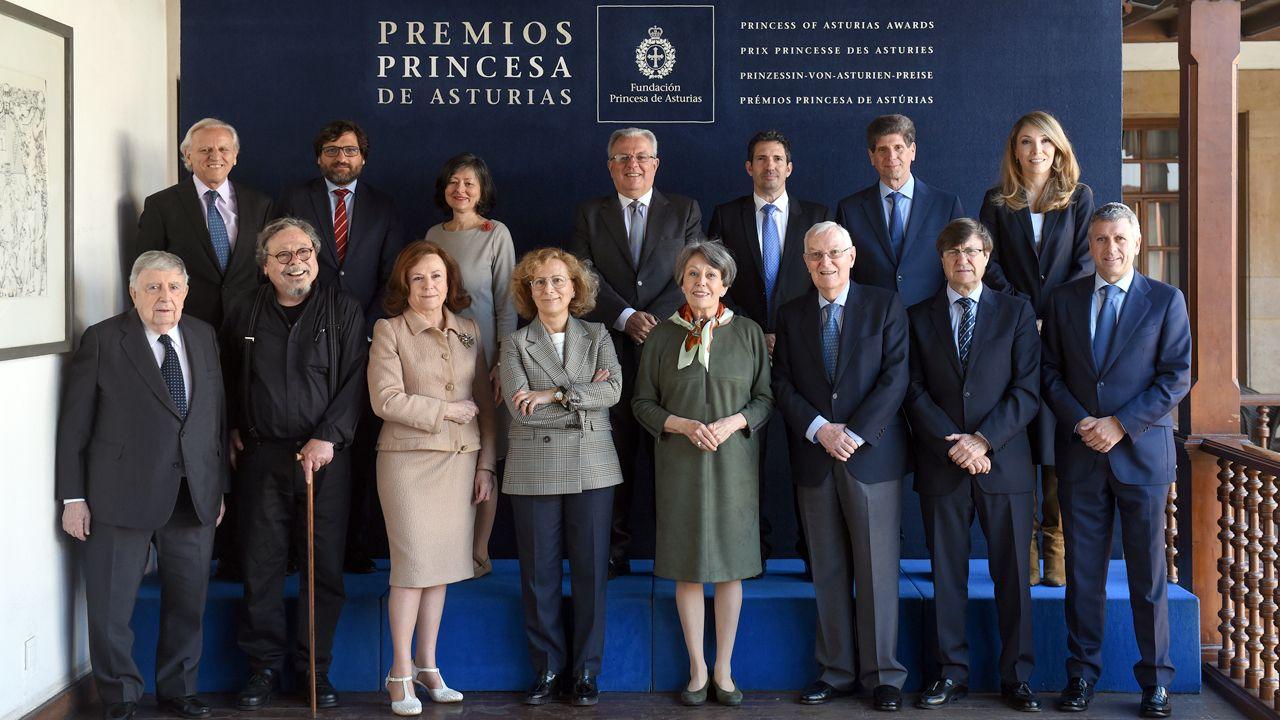 La Fundación Princesa suma apoyos.Jurados del premio Princesa de Asturias de Comunicación y Humanidades 2019