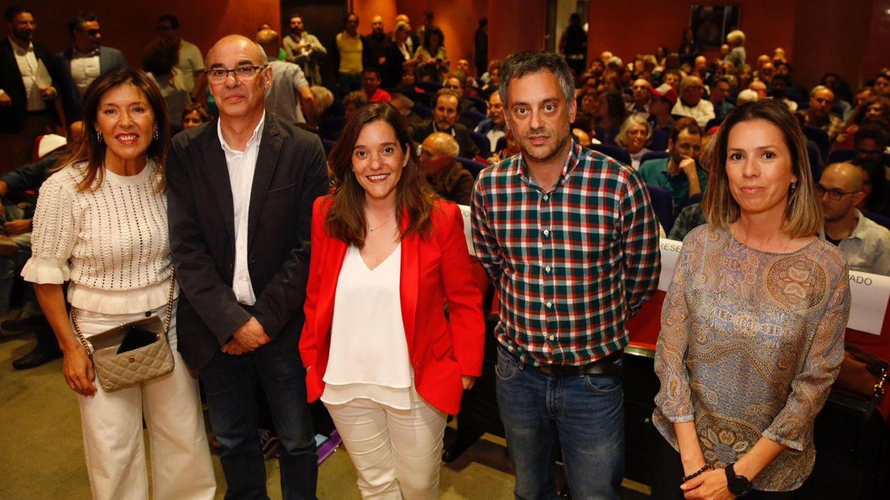 Así fue el debate definitivo de los candidatos a la alcaldía de A Coruña.Rosa Gallego y Beatriz Mato